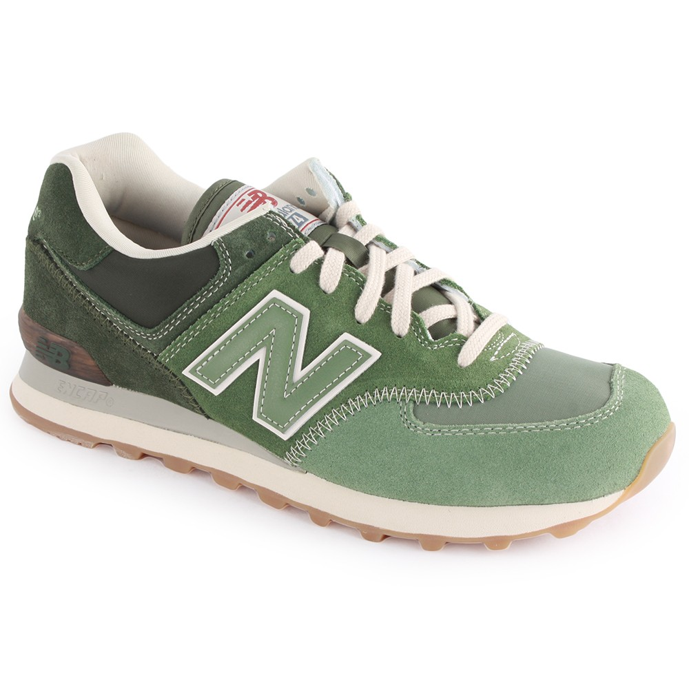 new balance trainers green
