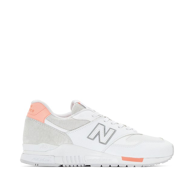 new balance white trainers